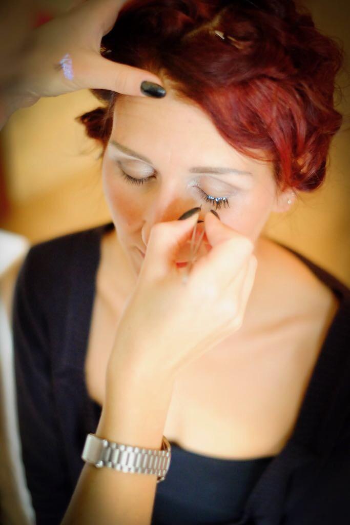Makeup Gesicht